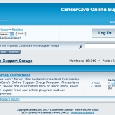 cc2.jpgCancerCare: Online Support Groups