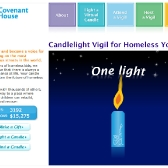 Covenant House: Virtual Vigil Homepage